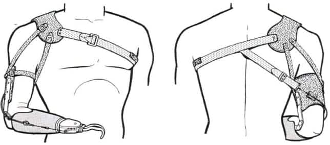Traditional Prosthesis Shoulder Harness