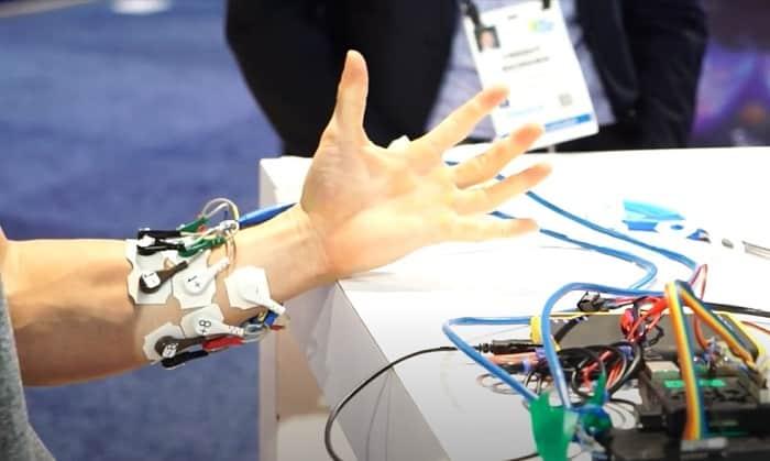BrainCo Prosthetic Sensors