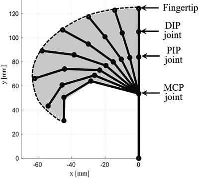 Bionic Finger Pattern of Motion