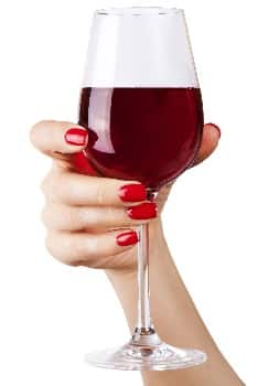 Human Hand Holding Wine Glass Demonstrating i-Digits Grip