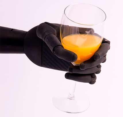 Zeus Bionic Limb With Wine Glass