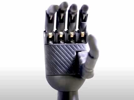Zeus Bionic Limb Palm Design