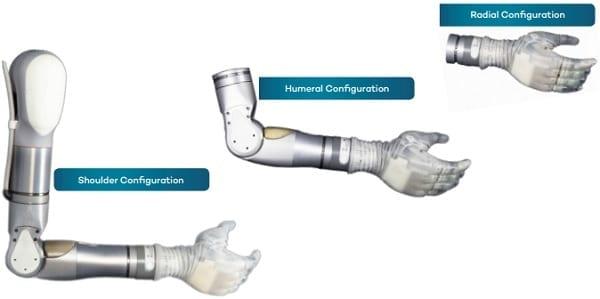 Luke Arm System Configuration Options
