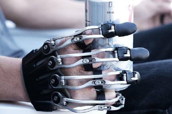 Naked Prosthetics Body-Powerered Partial Hand Prosthesis