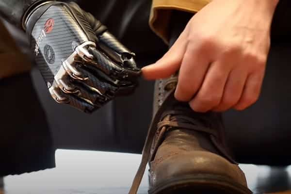 Bionic Feats: Tying Shoelaces