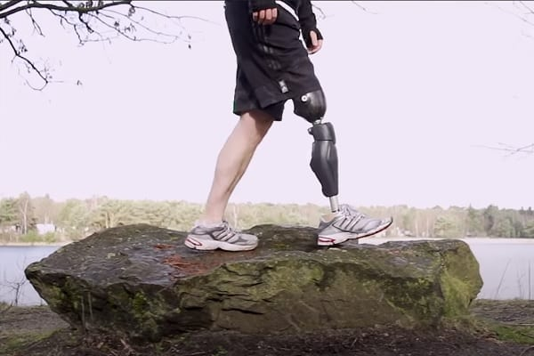 Bionic Legs and Feet Challenging Terrains