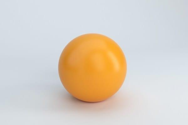 Smooth Plastic Ball