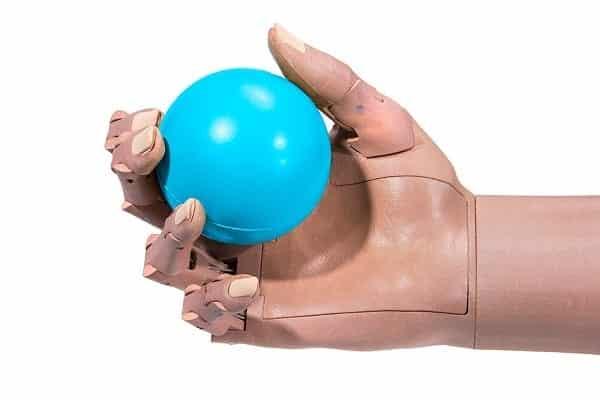 TrueLimb Holding A Ball