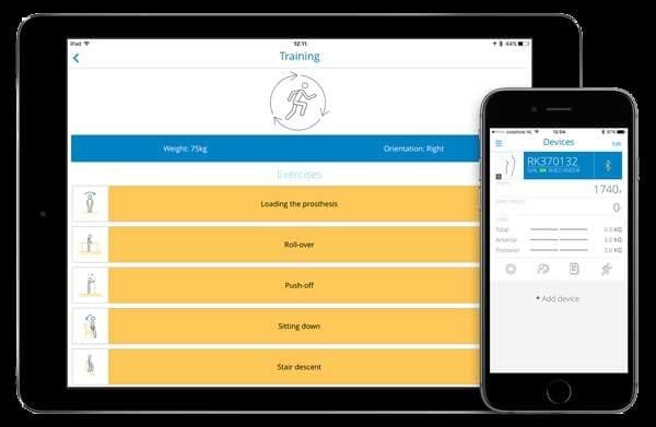 Ossur Rheo Knee Logic App