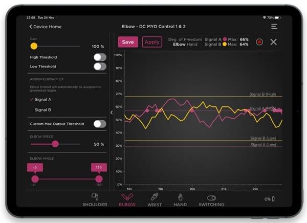 Steeper Espire Hub App