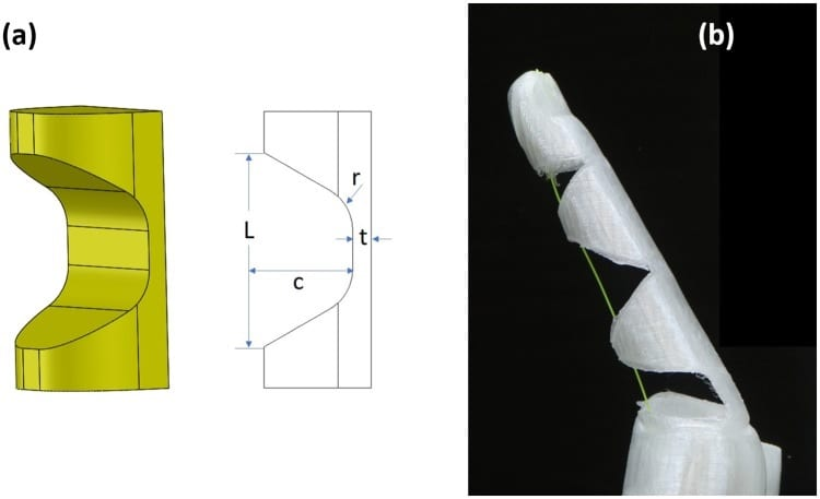 X-Limb Finger Structure